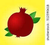 garnet colored icon  logo... | Shutterstock .eps vector #512590618