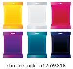 packaging for candy  chocolate... | Shutterstock .eps vector #512596318