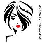 illustration of women short... | Shutterstock .eps vector #512599735