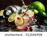 Cranberry Lemonade With Lime...