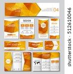 set of banners  brochures ... | Shutterstock .eps vector #512610046