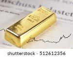 gold bar concept | Shutterstock . vector #512612356