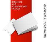 magazine  booklet  postcard ... | Shutterstock .eps vector #512635492