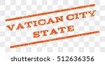 vatican city state watermark...   Shutterstock .eps vector #512636356