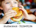 cute healthy preschool kid boy... | Shutterstock . vector #512649136