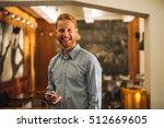 confident young businessman... | Shutterstock . vector #512669605