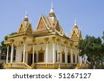 buddhist temple in sihanouk... | Shutterstock . vector #51267127