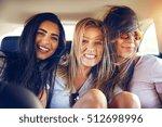 Three Multiracial Young Woman...
