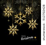 merry christmas and new year... | Shutterstock .eps vector #512702428