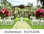 wedding set up | Shutterstock . vector #512712256