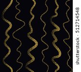 wavy lines of varying thickness ... | Shutterstock .eps vector #512714548
