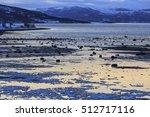 ofotfjord shoreline at low tide ...   Shutterstock . vector #512717116