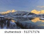 austerstraumen bridge over...   Shutterstock . vector #512717176