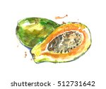 Ripe Papaya.