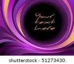 colorful vector background | Shutterstock .eps vector #51273430