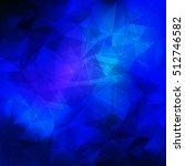 blue polygon background.polygon ...   Shutterstock .eps vector #512746582