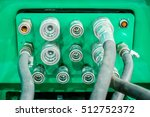 several hydraulic coupling... | Shutterstock . vector #512752372