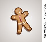 christmas cookie. gingerbread...