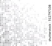 gray white random dots... | Shutterstock .eps vector #512797108