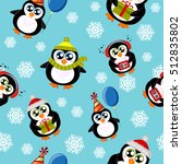 seamless pattern with cute... | Shutterstock .eps vector #512835802