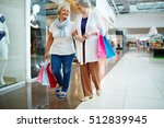 retired shoppers | Shutterstock . vector #512839945