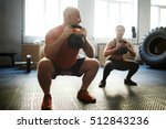 training for strong people | Shutterstock . vector #512843236