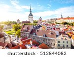 cityscape aerial view on the... | Shutterstock . vector #512844082