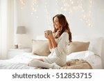 morning  leisure  christmas ... | Shutterstock . vector #512853715