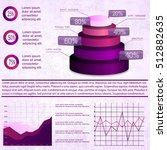 vintage infographics set vector ... | Shutterstock .eps vector #512882635