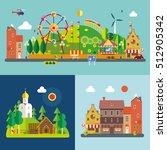 modern flat design conceptual... | Shutterstock .eps vector #512905342