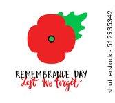 Remembrance Day Poppy....