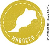 vintage style morocco country... | Shutterstock .eps vector #512955742