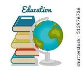 planet earth school icon   Shutterstock .eps vector #512976736