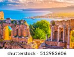 The Ruins Of Taormina Theater...