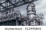 industrial zone the equipment... | Shutterstock . vector #512990842