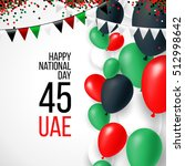 united arab emirates uae 45... | Shutterstock .eps vector #512998642