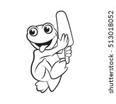Happy Frog With Ice Popsicle I...