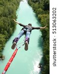 Bungee Jumping Over Beautiful...