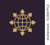 the global solution icon. www...