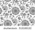 seamless floral pattern in...   Shutterstock .eps vector #513100132