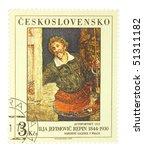 czechoslovakia   circa 1979  a... | Shutterstock . vector #51311182