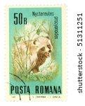 romania   circa 1985  a stamp... | Shutterstock . vector #51311251