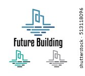 b   abstract future building... | Shutterstock .eps vector #513118096