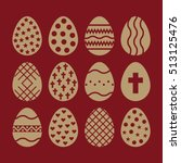 the egg and easter 12 icon....