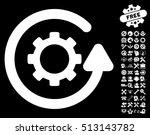 gearwheel rotation direction...   Shutterstock . vector #513143782