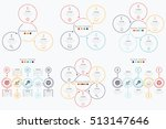 set with infographics | Shutterstock .eps vector #513147646