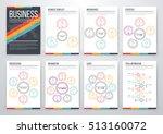 infographic vector set.... | Shutterstock .eps vector #513160072