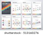 infographic vector set.... | Shutterstock .eps vector #513160276