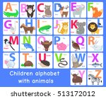 Children Alphabet With Animals...