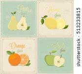 fruits  | Shutterstock .eps vector #513233815